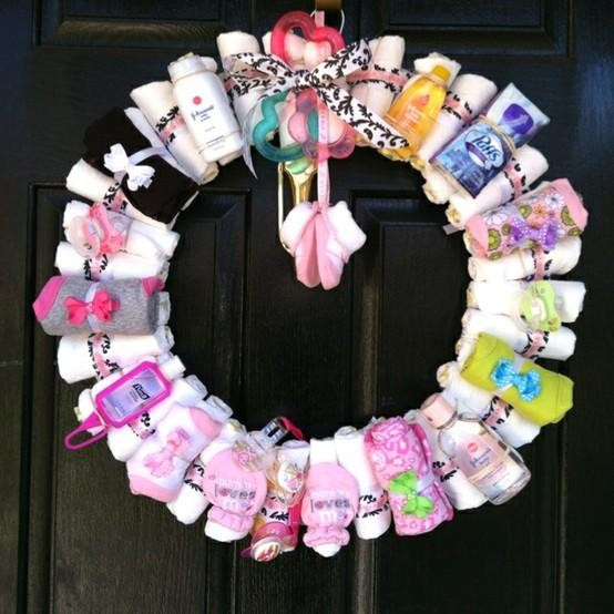 Best ideas about Baby Shower Wreath DIY . Save or Pin Out of the Box 5 redenen om een babyshower te organiseren Now.