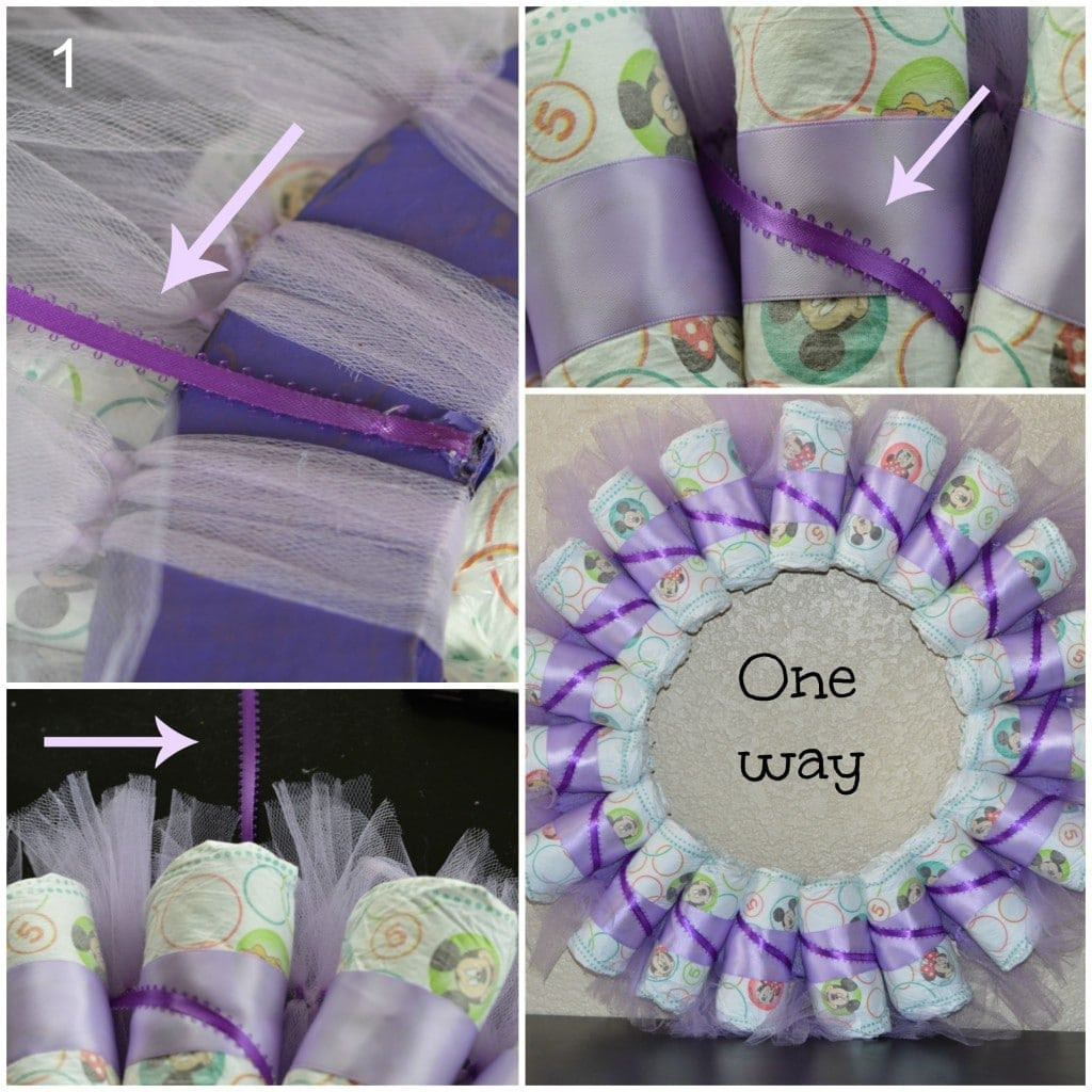 Best ideas about Baby Shower Wreath DIY . Save or Pin DIY Diaper Wreath Tutorial My Latina Table Now.