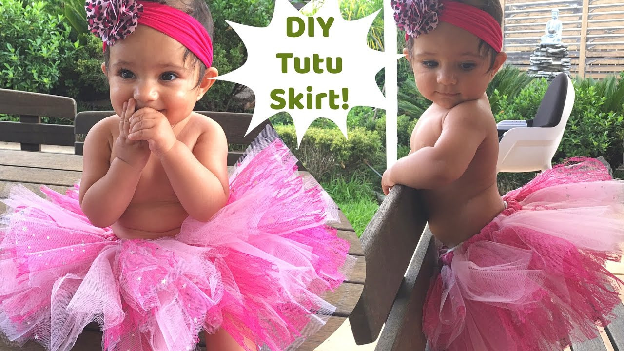 Best ideas about Baby Tutu DIY . Save or Pin No Sew Tutu skirt for baby Now.