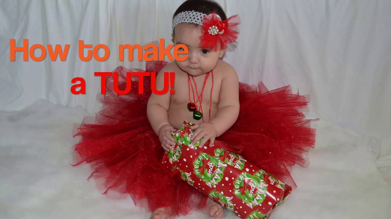 Best ideas about Baby Tutu DIY . Save or Pin How to make a tutu for Baby DIY Now.