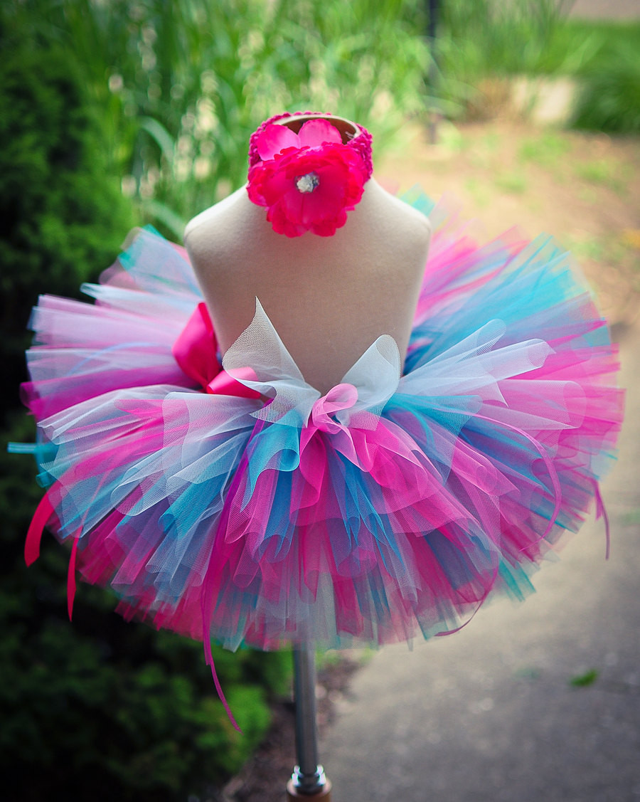 Best ideas about Baby Tutus DIY . Save or Pin Pink Blue Tutu Skirt Baby Tutu Toddler Tutu by TrinitysTutus Now.