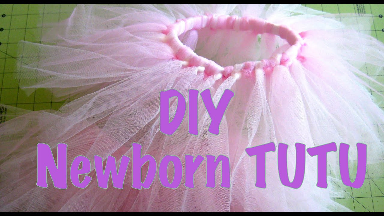 Best ideas about Baby Tutus DIY . Save or Pin Pinspired DIY Newborn tutu Now.
