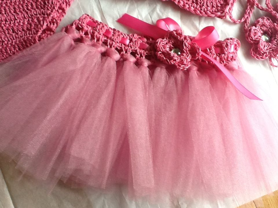 Best ideas about Baby Tutus DIY . Save or Pin DIY Tutu w Crochet Waistband Now.