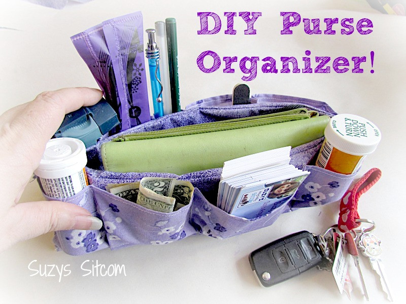 Best ideas about Backpack Organizer DIY . Save or Pin Easy to make DIY Purse Organizer Now.