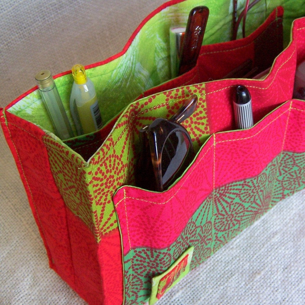 Best ideas about Backpack Organizer DIY . Save or Pin SALE DIY Purse Organizer Kit Red Hot and Cool Green Now.