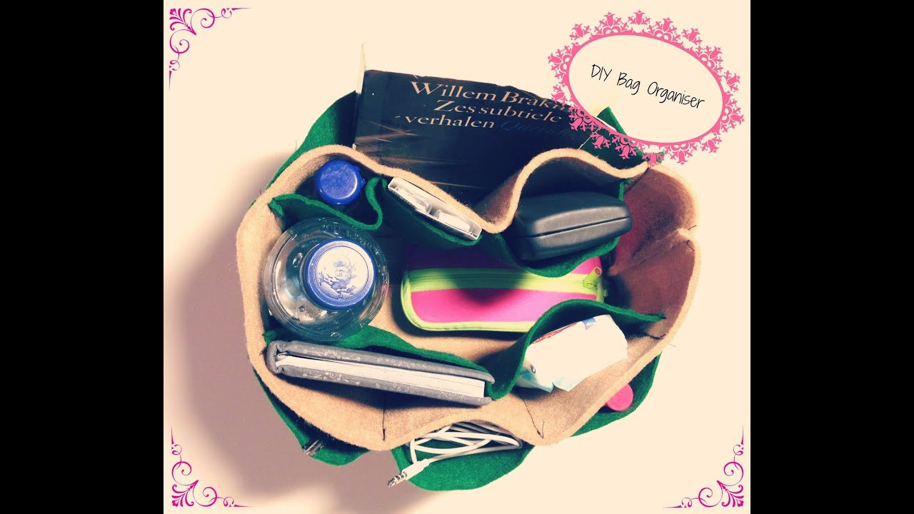 Best ideas about Backpack Organizer DIY . Save or Pin DIY bag organizer Now.