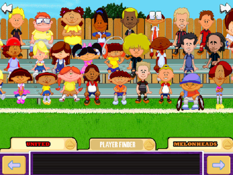 Best ideas about Backyard Baseball Characters . Save or Pin Backyard Soccer 2004 Characters Giant Bomb Now.