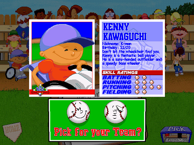 Best ideas about Backyard Baseball Characters . Save or Pin Kenny Kawaguchi Video Game Character Profile Vizzed Now.