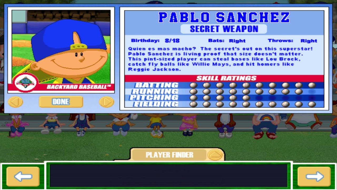 Best ideas about Backyard Baseball Characters . Save or Pin Let s Play Backyard Baseball 2003 INTRO & Meet the Now.