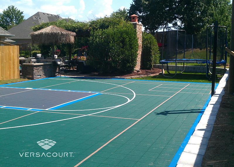 20 Of the Best Ideas for Backyard Basketball Court - Best ...