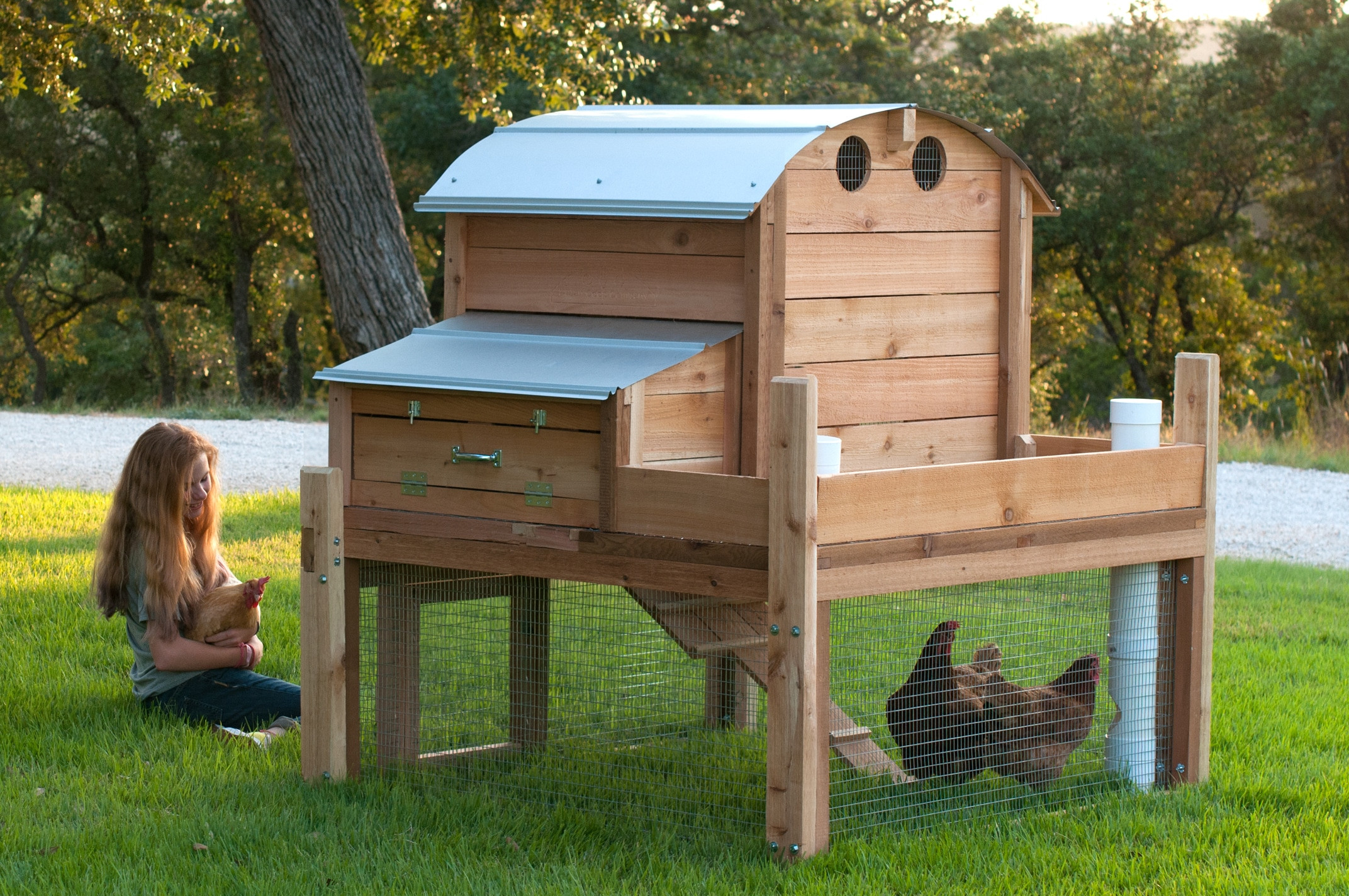 Best ideas about Backyard Chicken Coop . Save or Pin Round Top Backyard Chicken Coop™ Now.