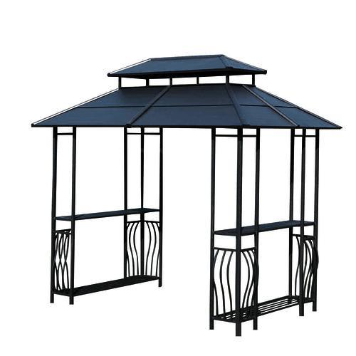 Best ideas about Backyard Creations Gazebo . Save or Pin Backyard Creations Steel Roof Grill Gazebo at Menards Now.
