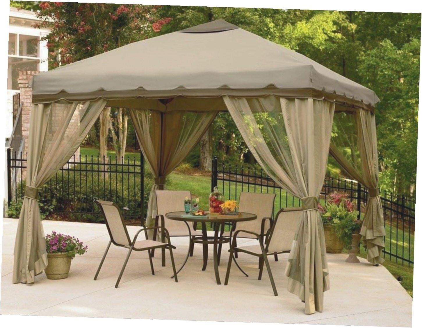 Best ideas about Backyard Creations Gazebo . Save or Pin Furnish Irresistible Backyard Creations Gazebo Getaways Now.