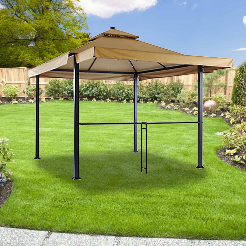 Best ideas about Backyard Creations Gazebo . Save or Pin Menards Gazebo Replacement Canopy Garden Winds Now.