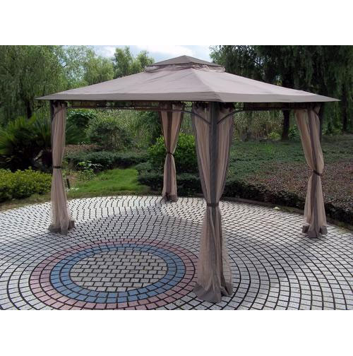 Best ideas about Backyard Creations Gazebo . Save or Pin Replacement Canopy for Wind Resistant Gazebo Garden Winds Now.