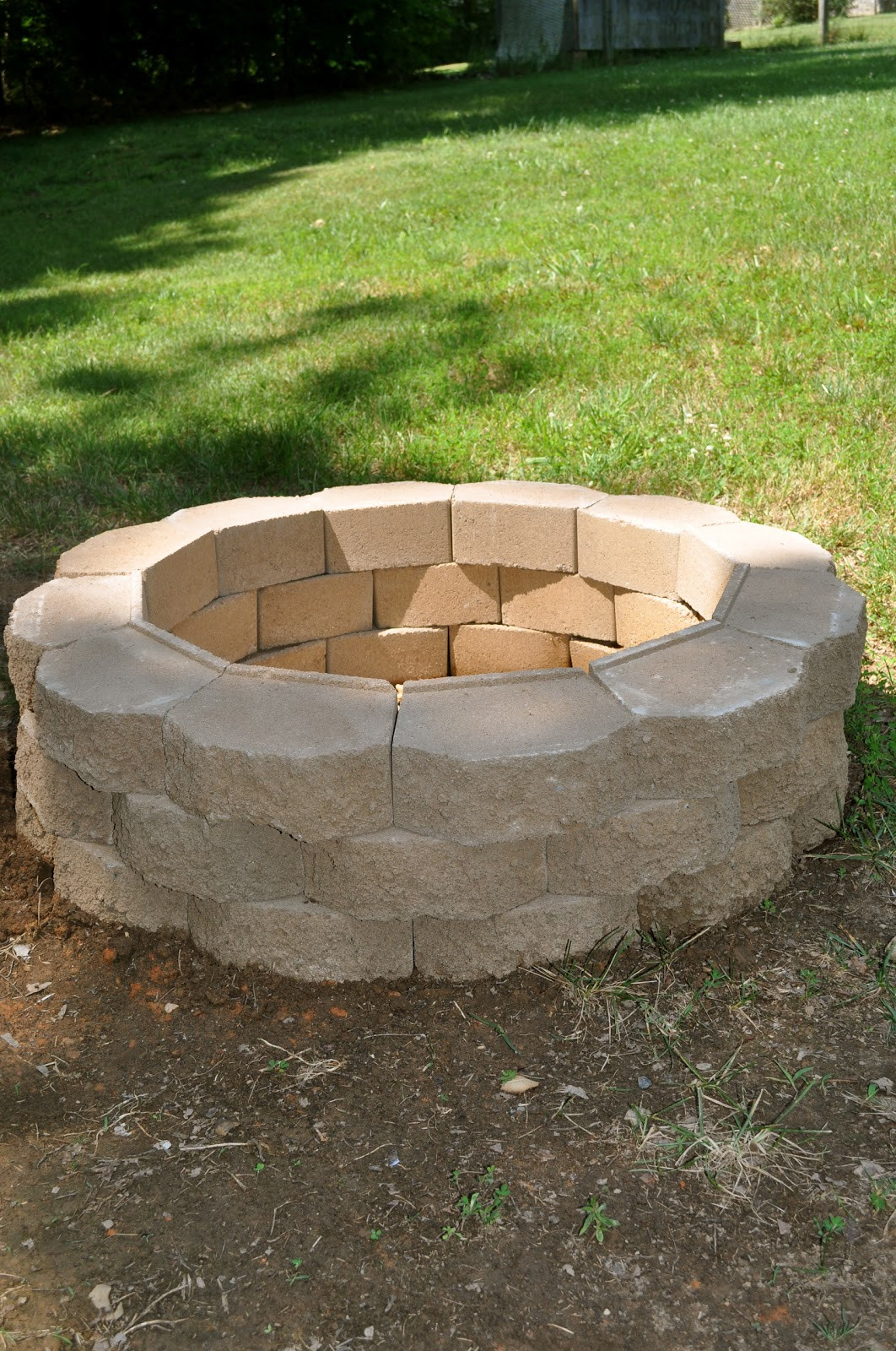 Best ideas about Backyard Fire Pit . Save or Pin Salty Tales DIY Fire Pit Now.