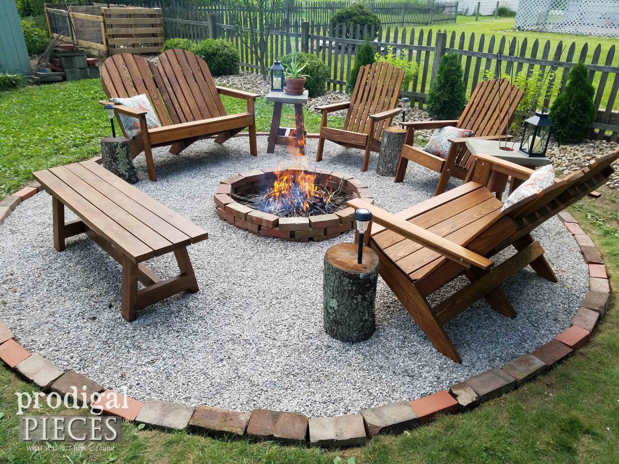 Best ideas about Backyard Fire Pit . Save or Pin DIY Fire Pit Backyard Bud Decor Glamper ideas Now.