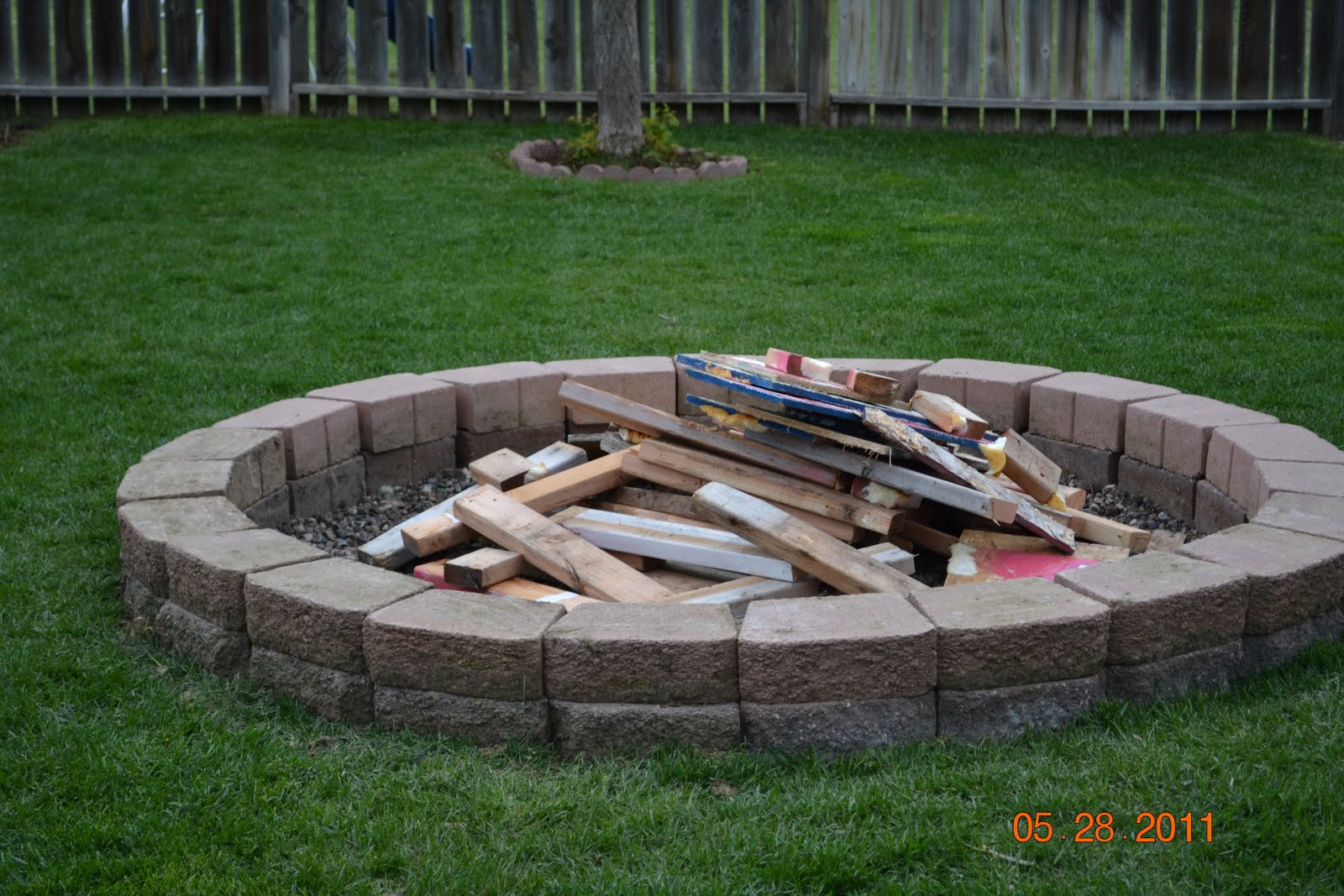 Best ideas about Backyard Fire Pit . Save or Pin The Burk Family Family Fire Pit Now.