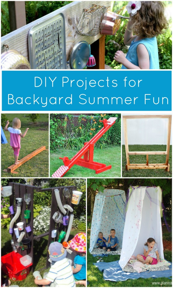 Best ideas about Backyard Fun For Kids . Save or Pin Summer DIY Projects for Backyard Fun Fantastic Fun Now.