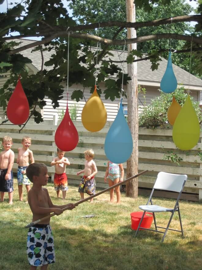 Best ideas about Backyard Fun For Kids . Save or Pin 21 Fun June Birthday Party Ideas for Boys and Girls too Now.