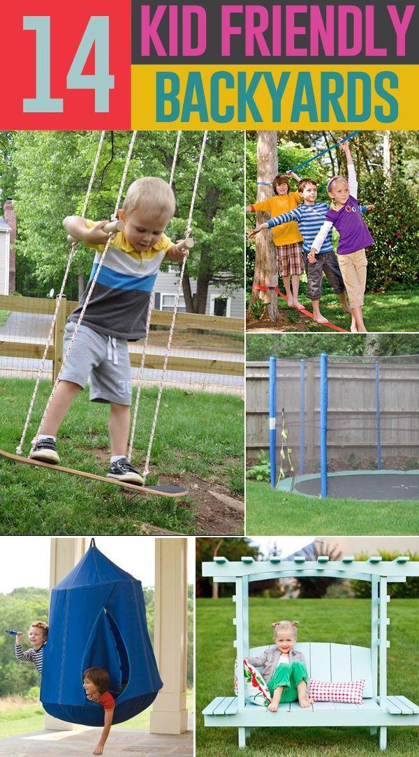 Best ideas about Backyard Fun For Kids . Save or Pin Kid Friendly Backyard DIY Ideas Now.
