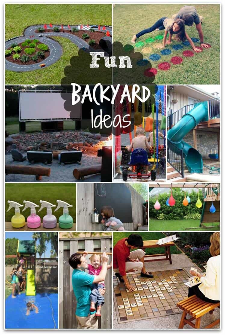 Best ideas about Backyard Fun For Kids . Save or Pin Fun Backyard Ideas these DIY ideas will make summertime Now.
