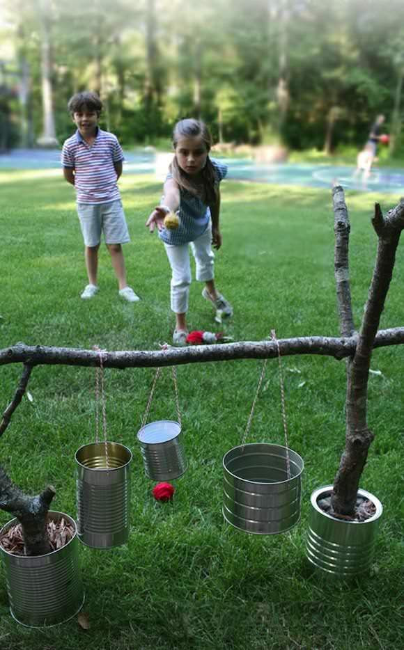 Best ideas about Backyard Fun For Kids . Save or Pin Awesome Outdoor DIY Projects for Kids Now.