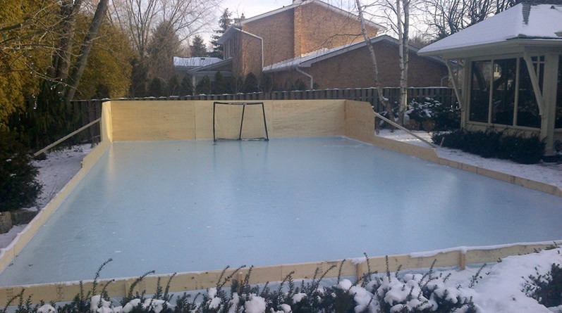 The Best Backyard Hockey Rink - Best Collections Ever ...