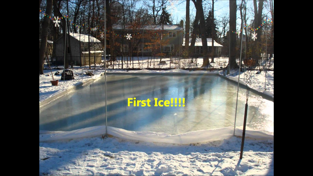 Best ideas about Backyard Ice Rink . Save or Pin How to Build a Backyard Ice Rink Now.