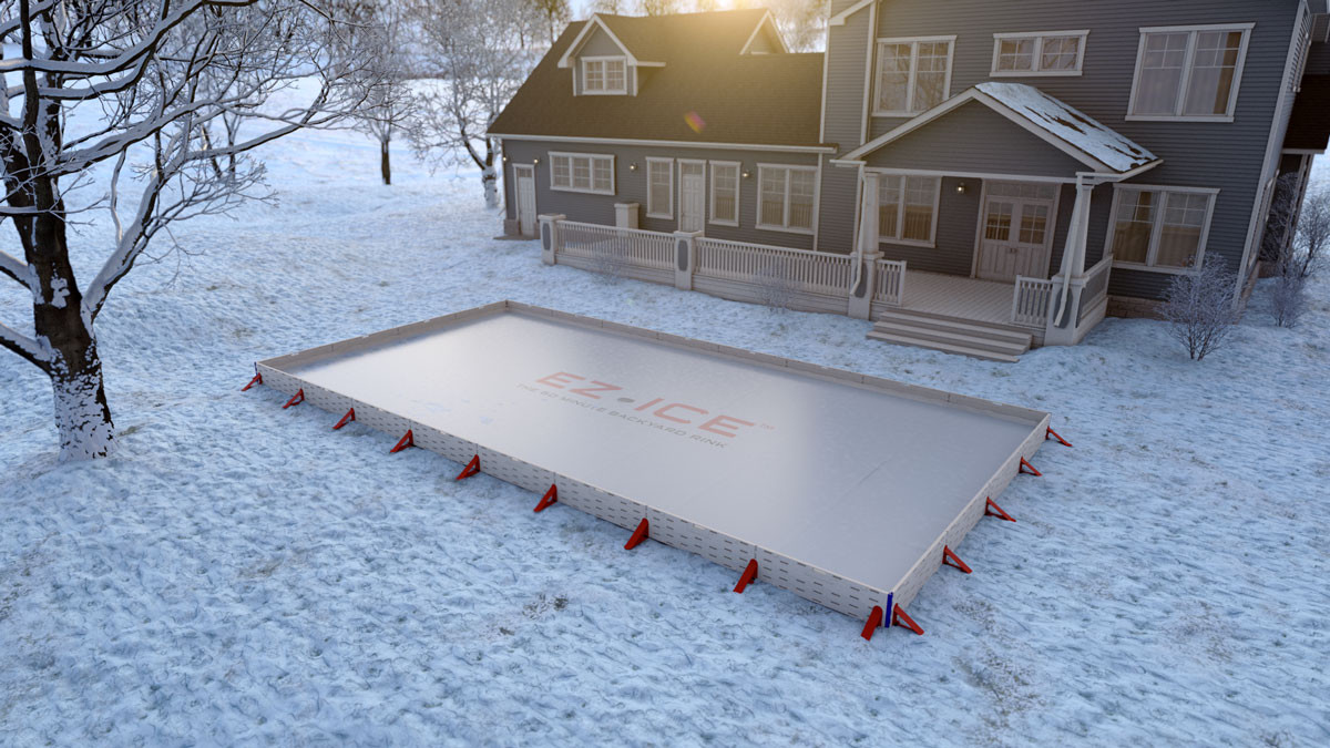 Best ideas about Backyard Ice Rink . Save or Pin EZ Ice DIY 60 Minute Backyard Ice Rink Now.