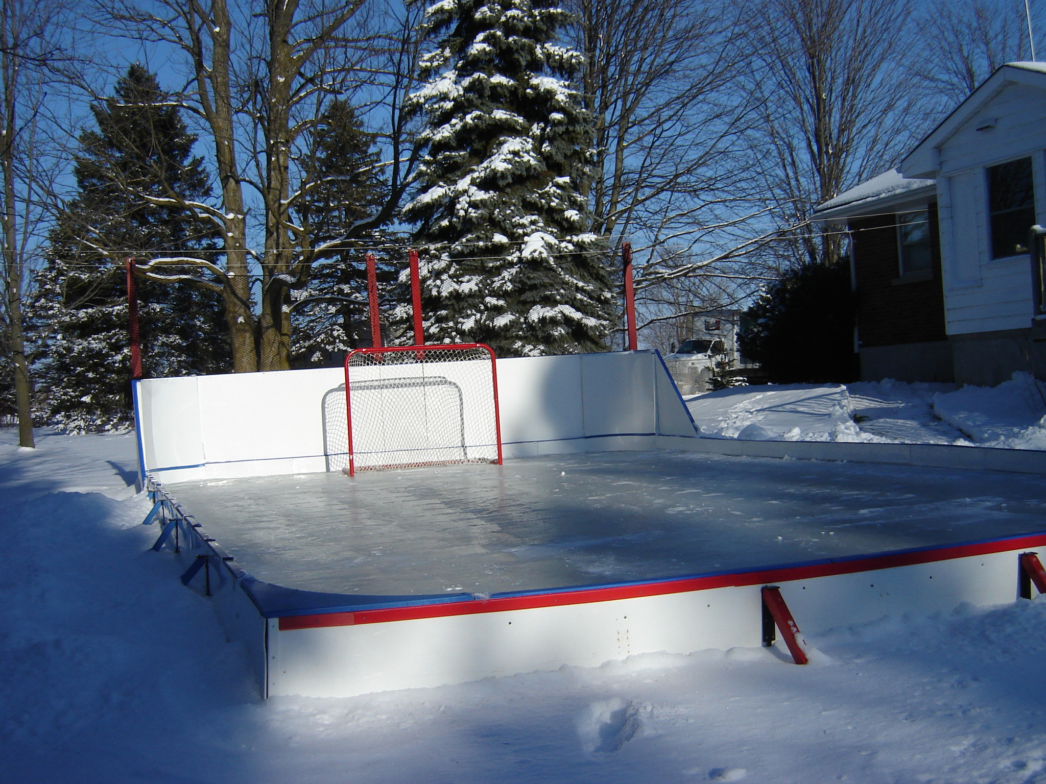Best ideas about Backyard Ice Rink . Save or Pin Making Your Basic Rink Backyard Rink Now.