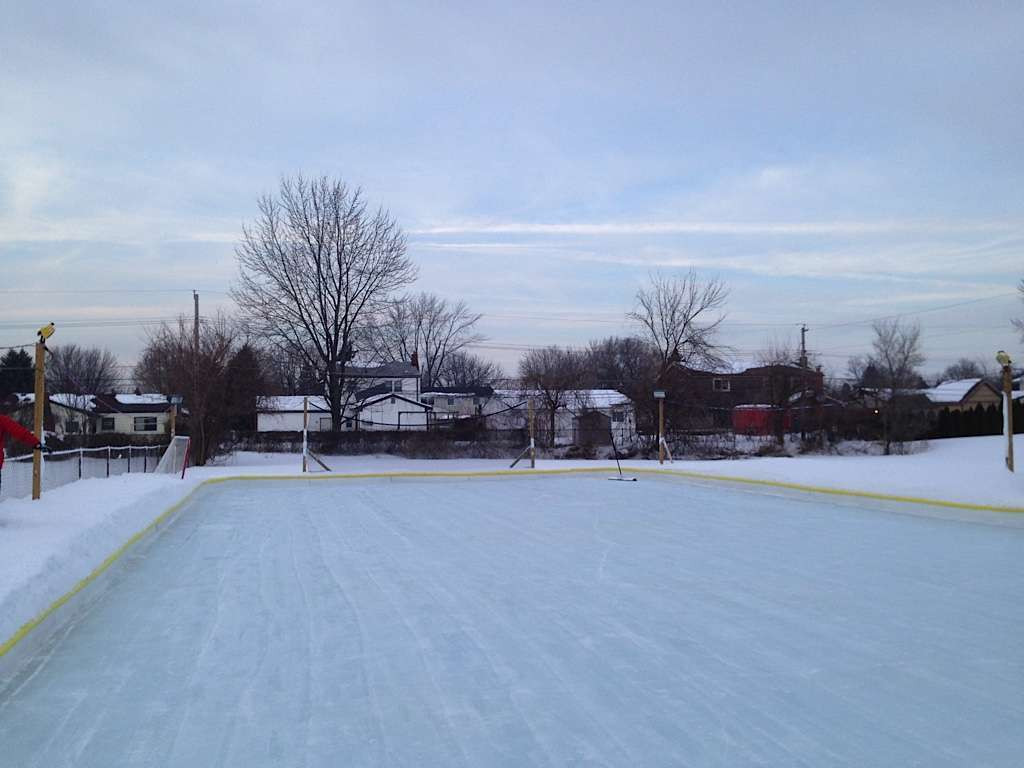 Best ideas about Backyard Ice Rink . Save or Pin How to create a backyard ice skating rinks for customers Now.