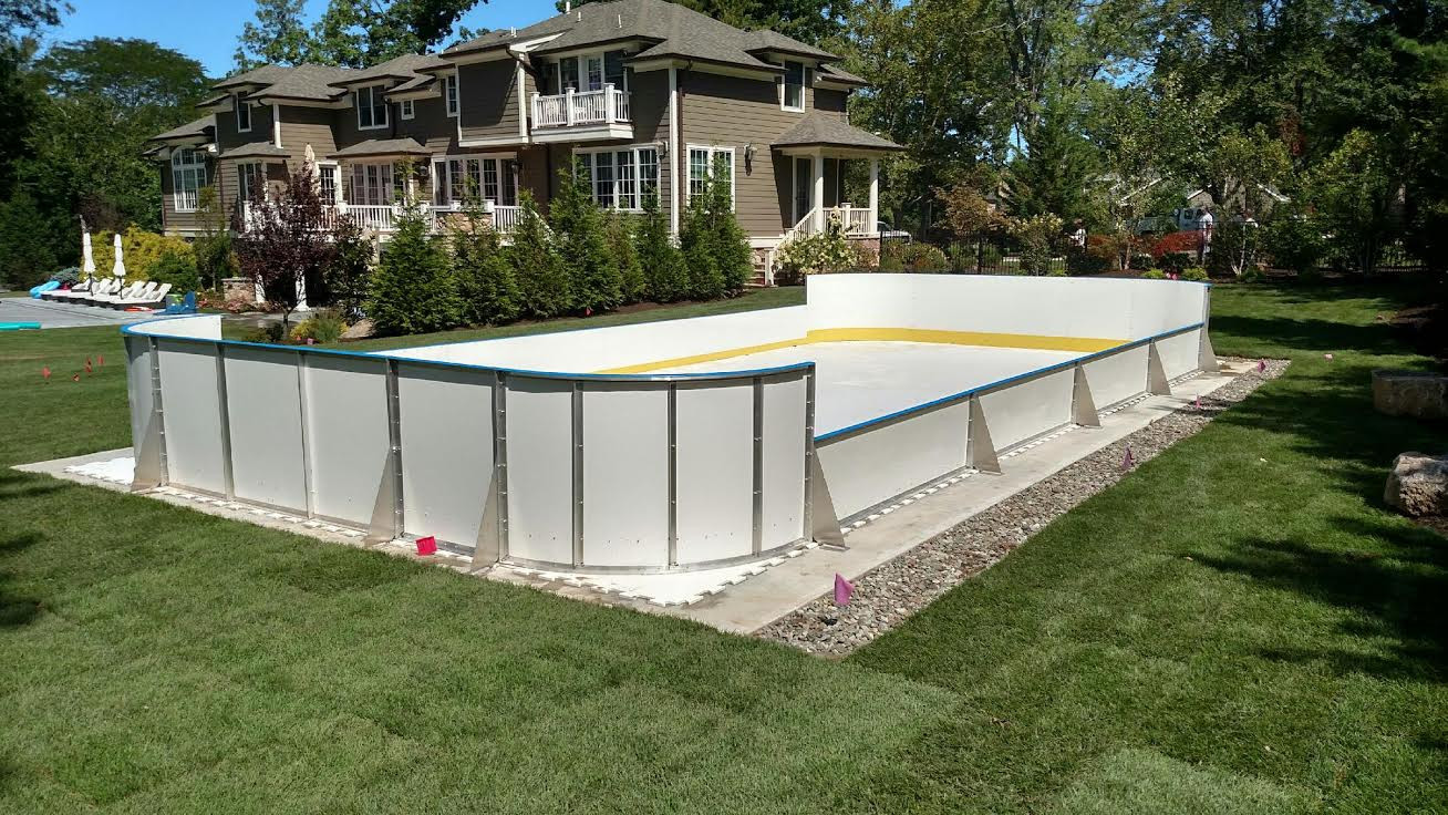 Best ideas about Backyard Ice Rink . Save or Pin Year Round Rinks Hockey Boards & Synthetic Ice Now.