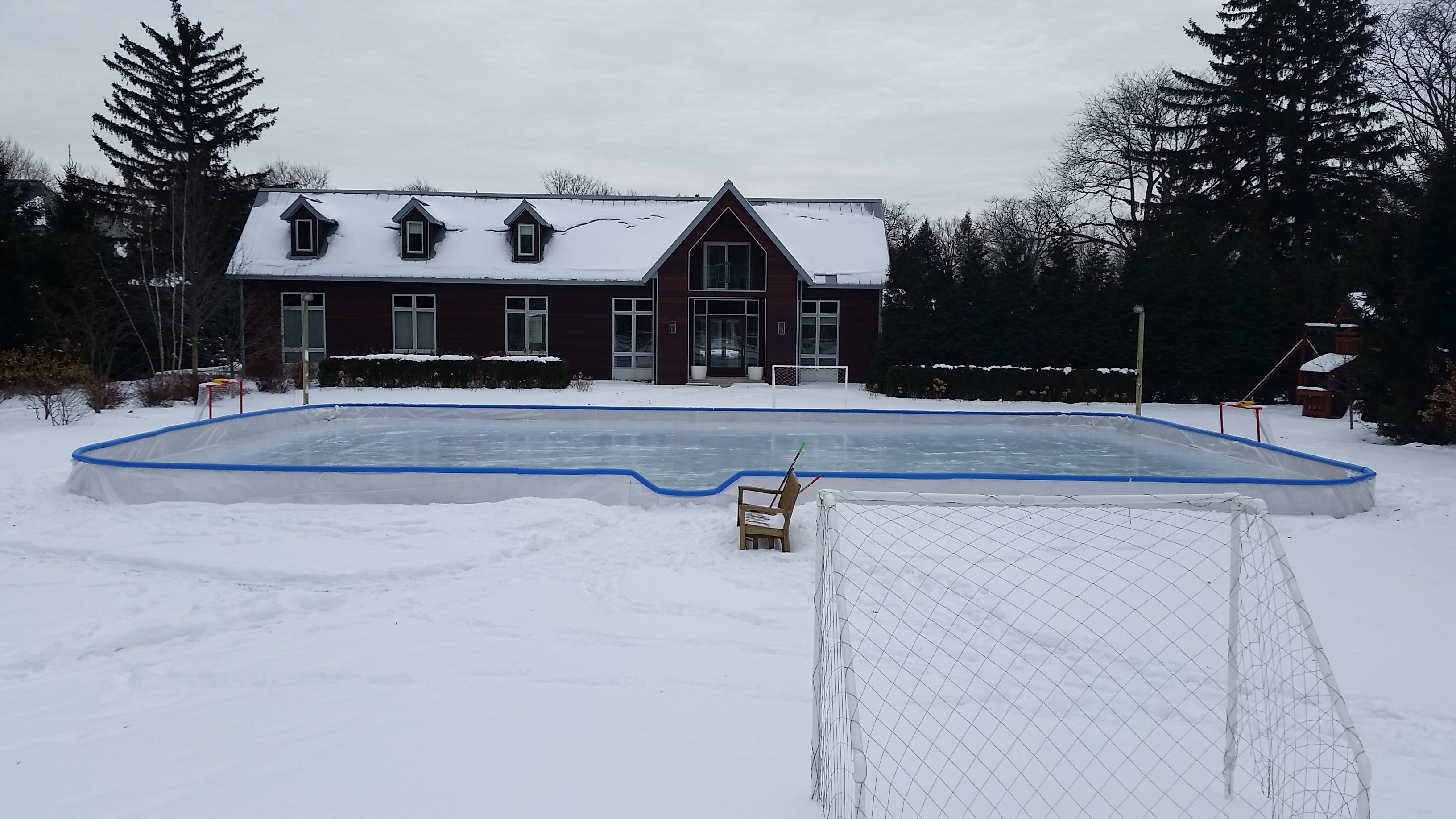 Best ideas about Backyard Ice Rink . Save or Pin Custom Ice Rinks Backyard Rink Installations Now.