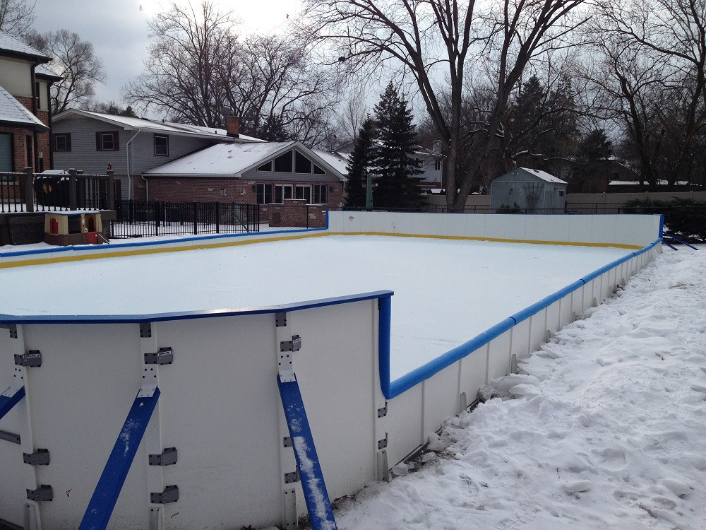 Best ideas about Backyard Ice Rink . Save or Pin Rink Boards Backyard Rink Boards Backyard Ice Rink Boards Now.