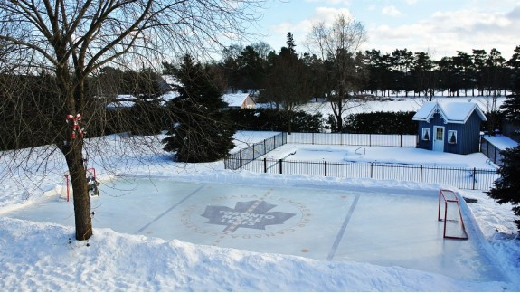 Best ideas about Backyard Ice Rink . Save or Pin Backyard Ice Rinks Backyard Rink Iron Sleek Inc Now.