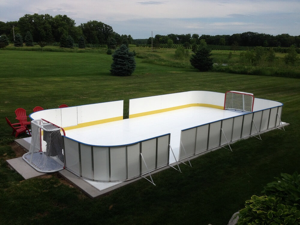 Best ideas about Backyard Ice Rink . Save or Pin D1 Backyard Rinks Synthetic Ice Basement or Backyard Now.