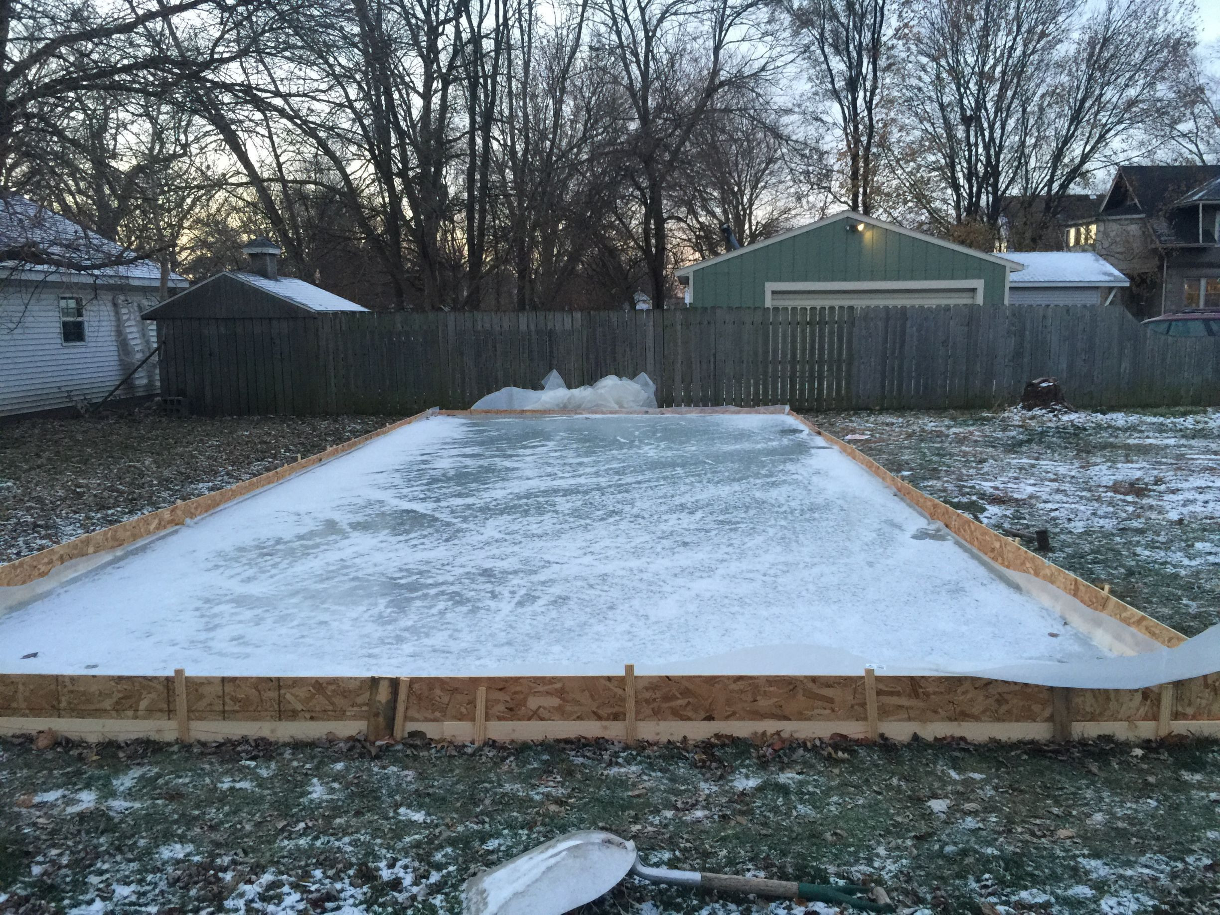 Best ideas about Backyard Ice Rink . Save or Pin DIY Backyard Ice Rink Now.