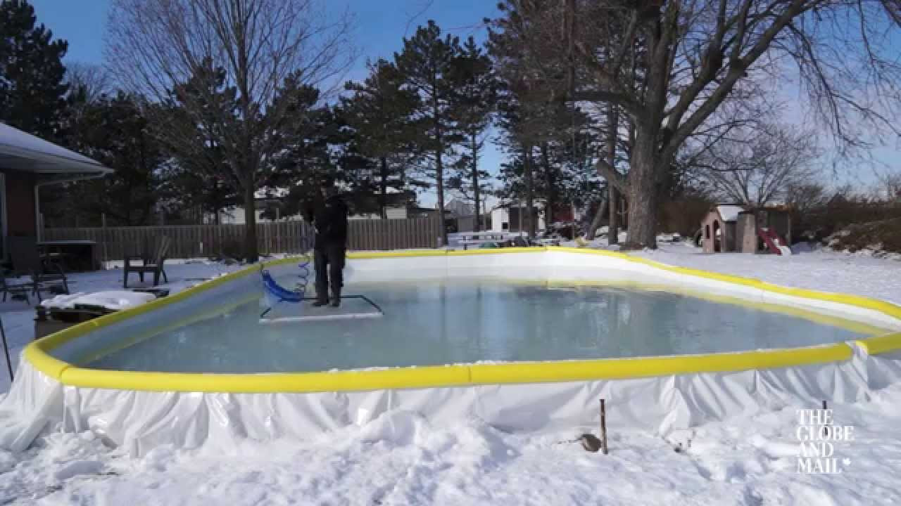 Best ideas about Backyard Ice Rink . Save or Pin Three tips for keeping your backyard rink smooth all Now.