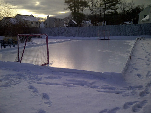 Best ideas about Backyard Ice Rink . Save or Pin Build your own backyard ice rink Boston dad approved tips Now.