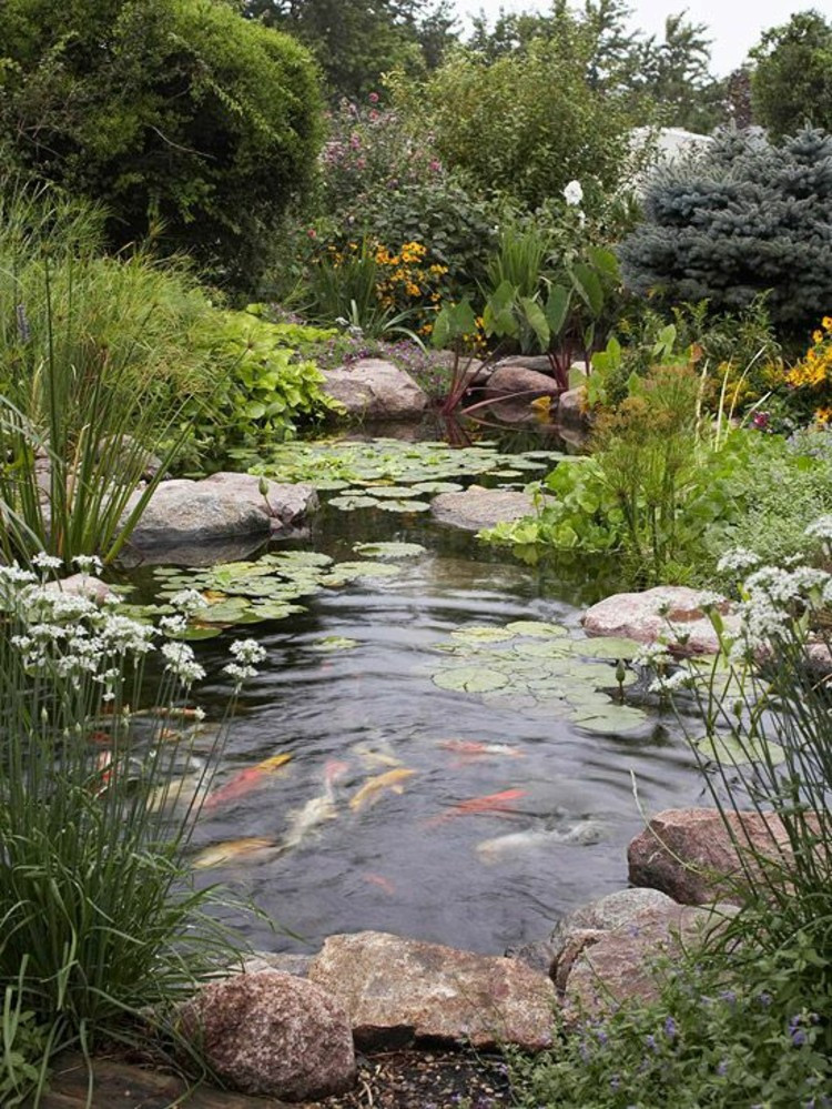 Best ideas about Backyard Koi Pond . Save or Pin 73 Pond Let You Dream A Beautiful Garden – Fresh Now.