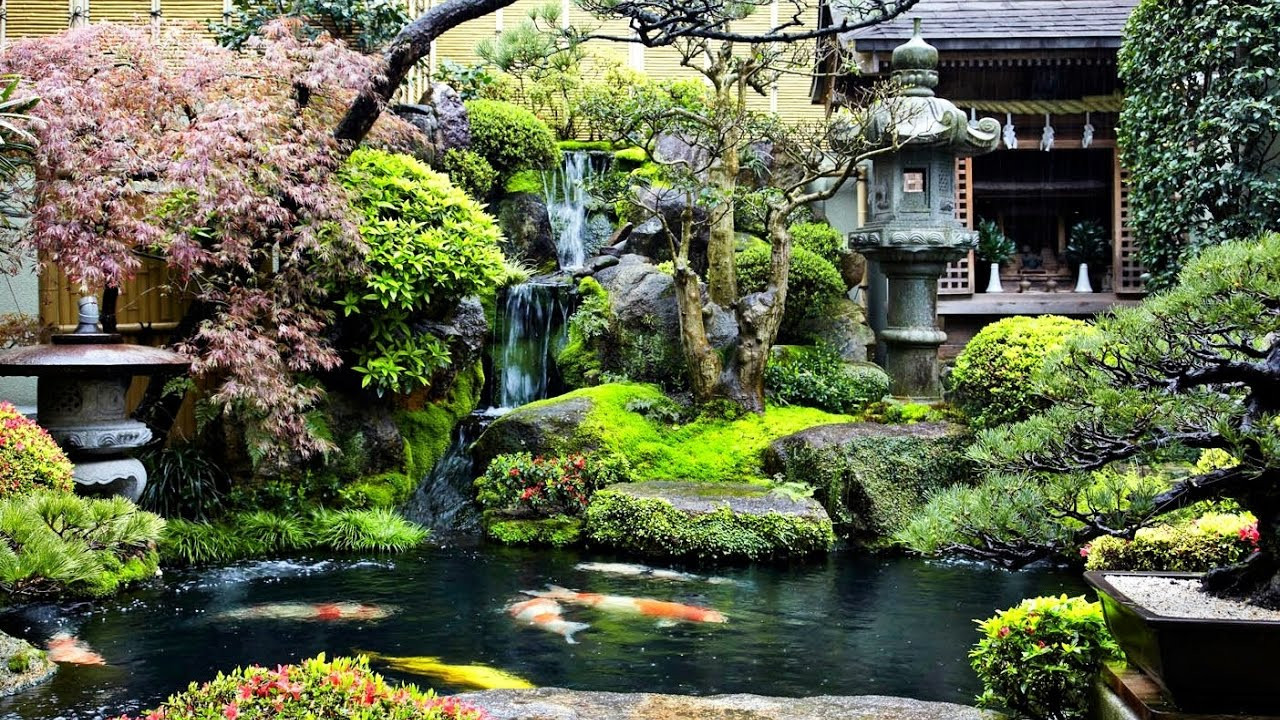 Best ideas about Backyard Koi Pond . Save or Pin backyard koi pond waterfall garden ideas Now.