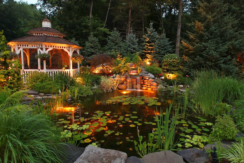 Best ideas about Backyard Koi Pond . Save or Pin Pond and Waterfall Wappingers Falls NY Gallery Now.