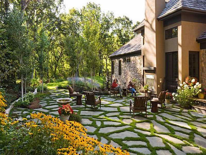 Best ideas about Backyard Patio Ideas On A Budget . Save or Pin Gardening & Landscaping Backyard Design Ideas A Now.