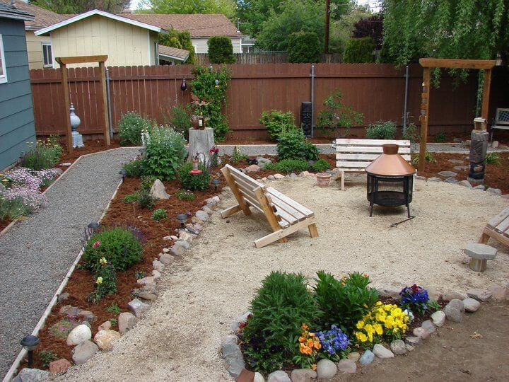 Best ideas about Backyard Patio Ideas On A Budget . Save or Pin Backyard Ideas on a Bud Now.