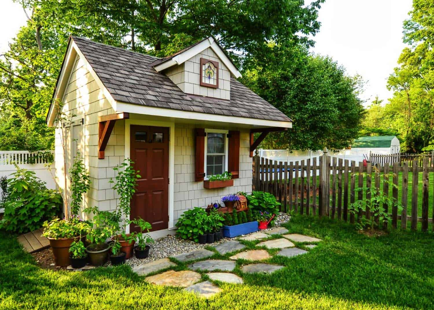 Best ideas about Backyard Shed Ideas . Save or Pin 40 Simply amazing garden shed ideas Now.