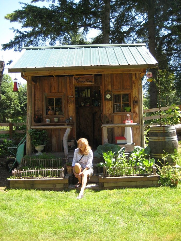 Best ideas about Backyard Shed Ideas . Save or Pin decorated Sheds with Porch Now.