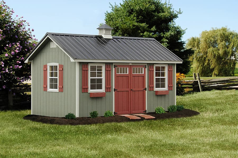 Best ideas about Backyard Shed Ideas . Save or Pin Gallery of The Lancaster Style Shed from Overholt in Now.