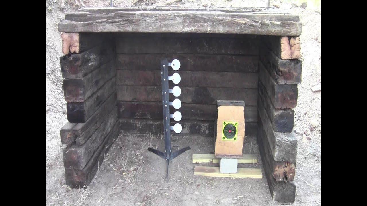 Best ideas about Backyard Shooting Range . Save or Pin Build a Small Backyard Shooting Range Now.