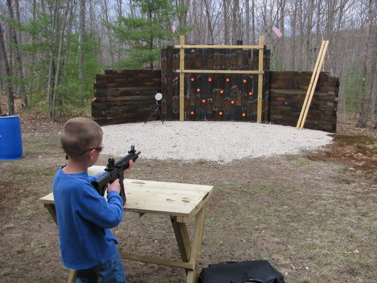 Best ideas about Backyard Shooting Range . Save or Pin RugerForum • View topic Outdoor range ideas Now.